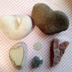 Other - Heart shaped rocks
